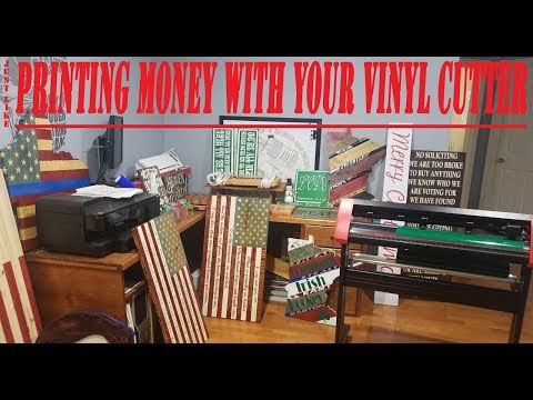 MAKE ALOT MORE MONEY WITH YOUR VINYL CUTTER .HOW TO TIPS/TRICKS