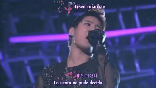 [HD] JYJ W.C. in Seoul - Nine (Focus Junsu) (Karaoke + Sub. Español)