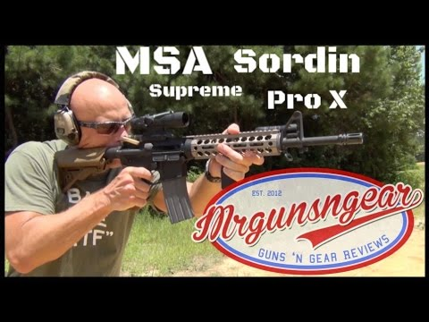 Msa Sordin Supreme Pro X Electronic Hearing Protection Review Hd