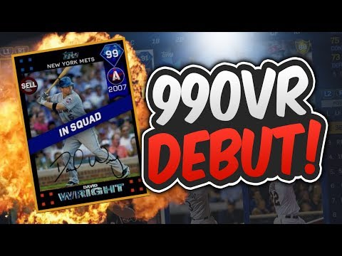 99 DIAMOND DAVID WRIGHT IS AMAZING! | MLB THE SHOW 17 DIAMOND DYNASTY