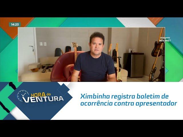 Ximbinha registra boletim de ocorrência contra apresentador após notícia falsa
