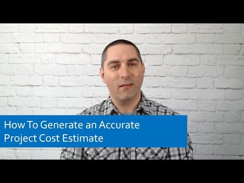 Project Management Tips: How To Generate an Accurate Project Cost Estimate