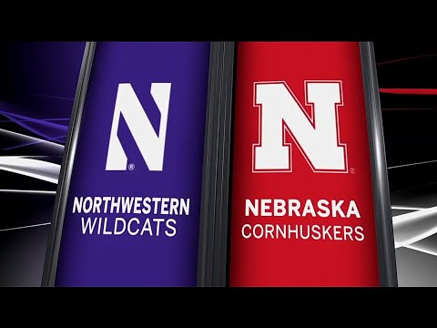 Northwestern at Nebraska - Football Highlights