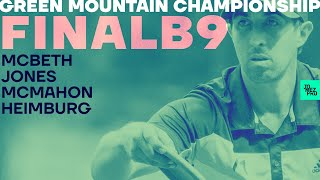 2020 GMC | FINALB9 | McBeth, McMahon, Heimburg, Jones | Jomez Disc Golf