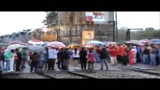 Peregrinación Ferrocarrilera Empalme Escobedo, Gto. 2014 KCSM