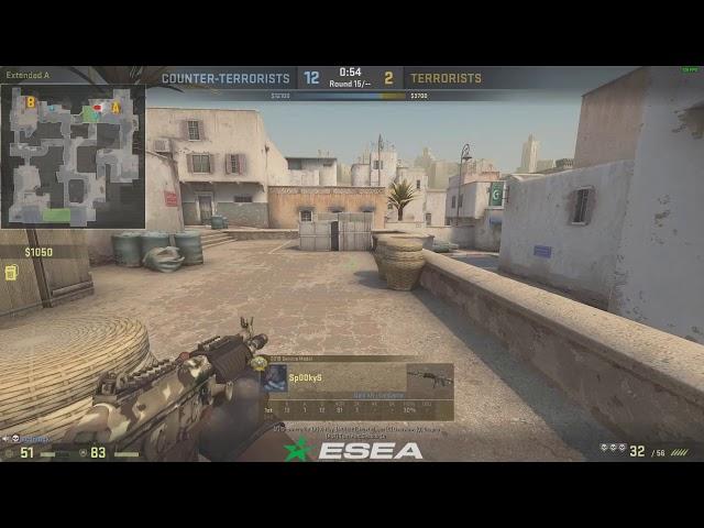 CSGO Ace dust 2