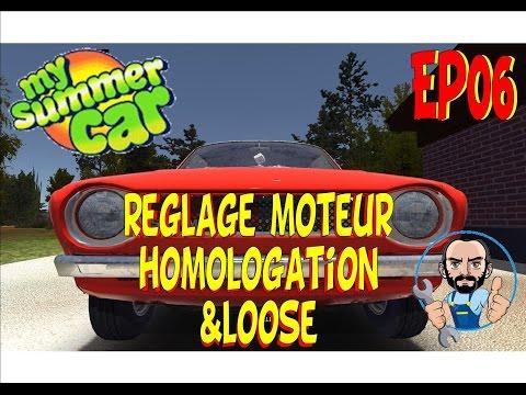 My Summer Car  - FR - EP06 Reglage moteur , Homologation & Loose