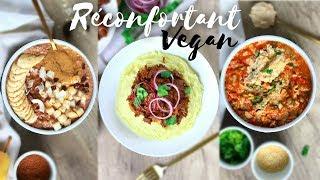 UNE JOURNÉE DANS MON ASSIETTE | Réconfortant, Healthy & Vegan