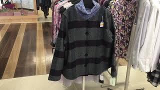 軽くてふっくら、あったか素材のシャネルジャケット 婦人服 グレース 足利