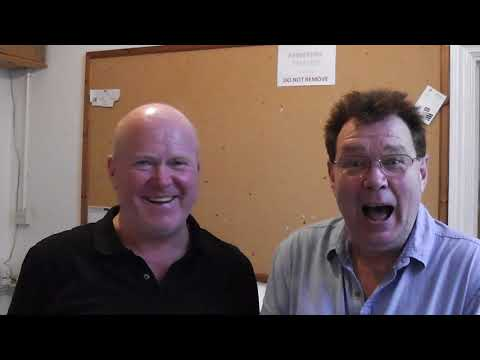 Andy Ford's Panto Diary with Steve McFadden Day One 2017
