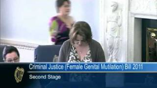 Senator Jillian van Turnhout - Criminal Justice (Female Genital Mutilation) Bill 2011