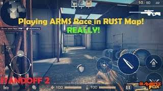 Playing ARMS Race in New Rust Map on Standoff 2