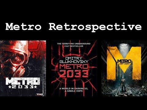 Metro 2033 Vs. Metro 2033 Vs. Metro Last Light - A Retrospective