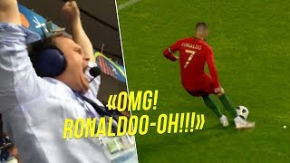 When Commentators Went CRAZY After Cristiano Ronaldo Goals 😱