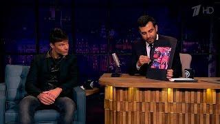 Вечерний Ургант. Рики Мартин/Ricky Martin угадывает наставников шоу «Голос». (19.09.2016)