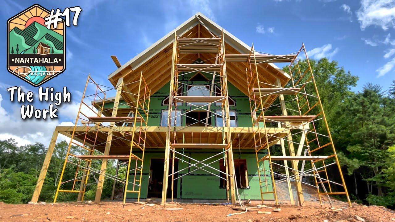 Soffit and Facia Trim-work | Building The Nantahala Retreat #17