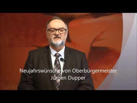 Neujahrswünsche von Oberbürgermeister Jürgen Dupper