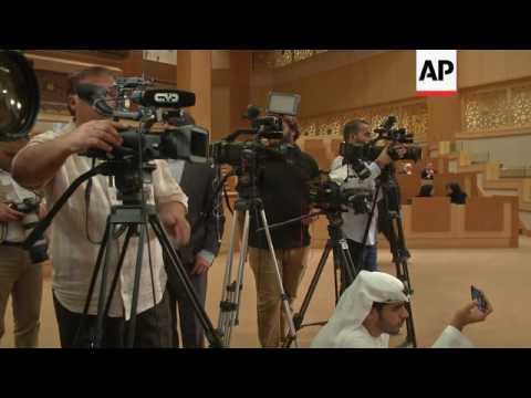 Head of Russian Federation Coucil visits Dubai