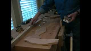 How To Build The Dowelmax Chair Part 2 - Building The Rear Framework Section