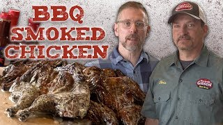 BBQ Smoked Chicken With Alabama White Sauce | BBQ&A | Southern Living
