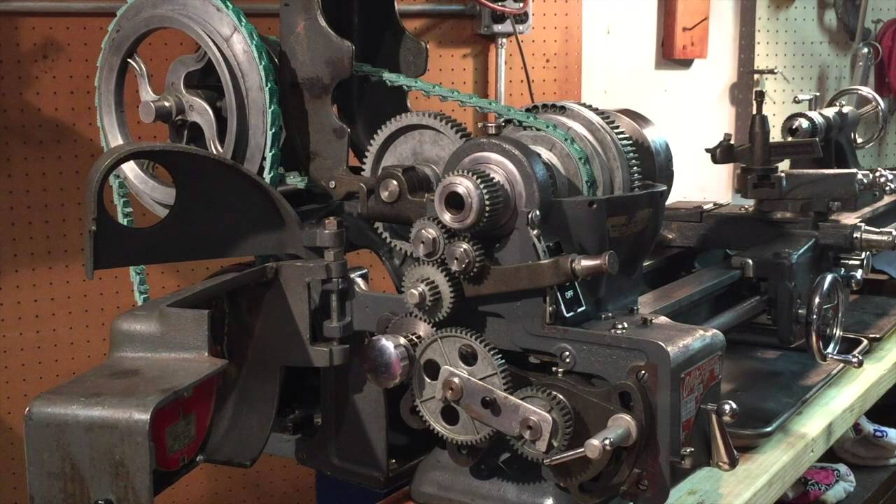 Atlas Lathe Motor Wiring Wire Center Diagram Rewiring An Part 2 21 Of My A Rh Youtube