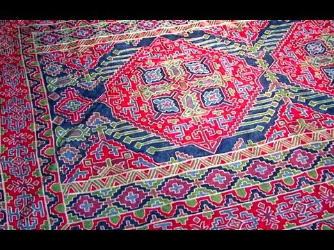 Kashmiri Handmade Rug Designs Old Delhi India