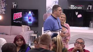 Zadruga 4 - Krisitjan se brani zbog masiranja Sanje - 15.10.2020.