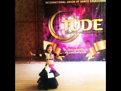 Download Belly dance.Ukraine.Rags el Sharqi. Little dancer Eva.Superstar.Winner 2017.her first solo!