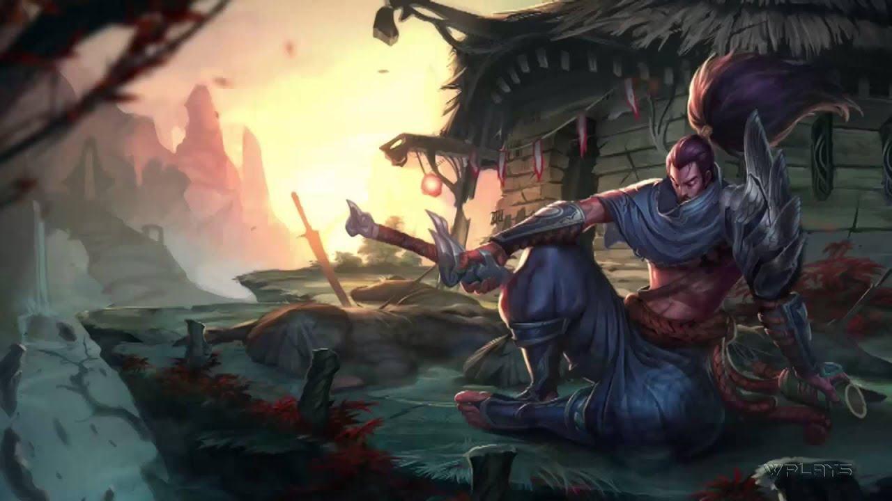 league of legends yasuo login screen and music 1080p hd