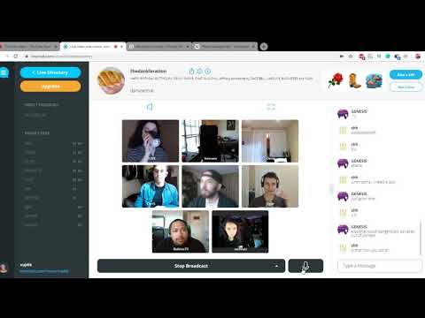 Ecology, Plastic And Cosmetics Talk At Tiny Chat With Russian Man