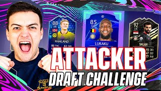 I won a FUT DRAFT using ATTACKERS ONLY on FIFA 21!!