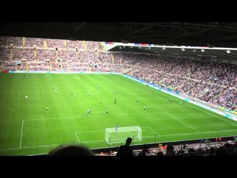 Siem De Jong Denied Penalty Newcastle - Southampton