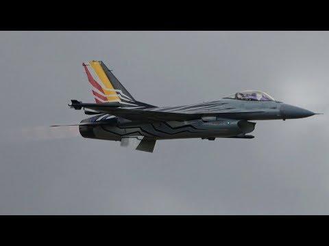 RIAT 2017 F-16AM Belgian AC The Royal International Air Tattoo