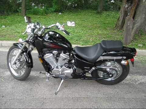 2007 honda shadow vlx   youtube