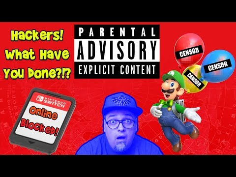 Adult Content In Mario Odyssey & Banned Switch Cartridges!* Hacking Gone Wrong!