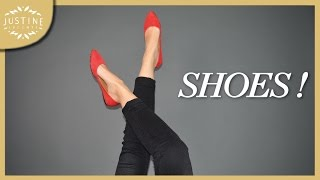 My (colorful) shoe collection | Justine Leconte