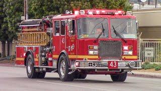 LACo.FD Squad 118 & Engine 43