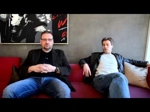 Anders Nilsson och Jens Hultén  Intervju inför Johan Falk Kodnamn Lisa Del 2 av 2