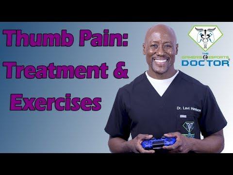 Thumb Pain: Treatment & Exercises (Double Gamers Thumb)