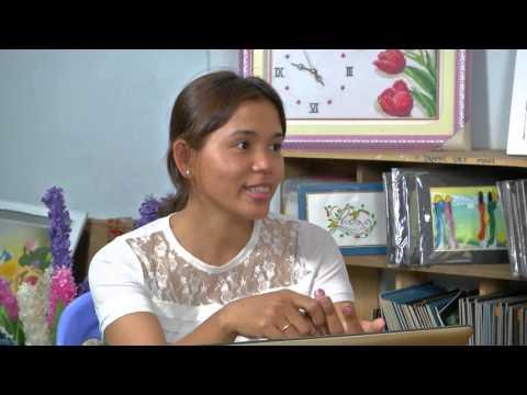 Tranh Giay xoắn - Yêu Thương Cuộc Sống [HTV9 – 09.02.2016]