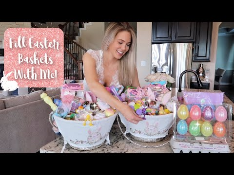 Fill Easter Baskets With Me! | Aaryn Williams