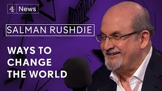 Salman Rushdie on no-platforming, magical realism and America in crisis