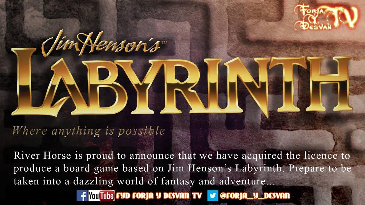 jim henson 39 s labyrinth el juego de mesa de river horse