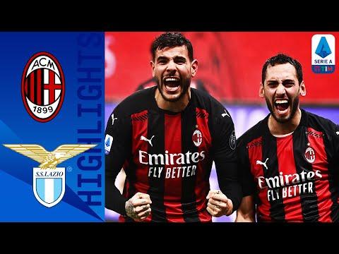 Milan 3-2 Lazio | Il Milan vince e resta in testa! | Serie A TIM