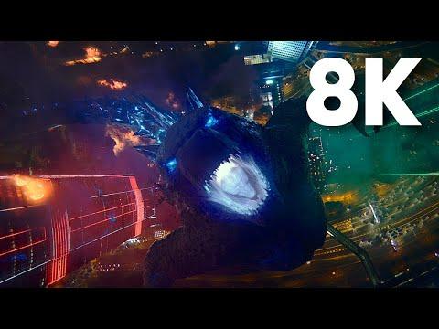 Godzilla Blow A Hole To Hollow Earth In 8K | Godzilla Vs. Kong