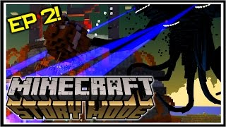 Minecraft STORY MODE | ELLEGAARD IN REDSTONIA | Assembly Required Ep 2 [1/2]