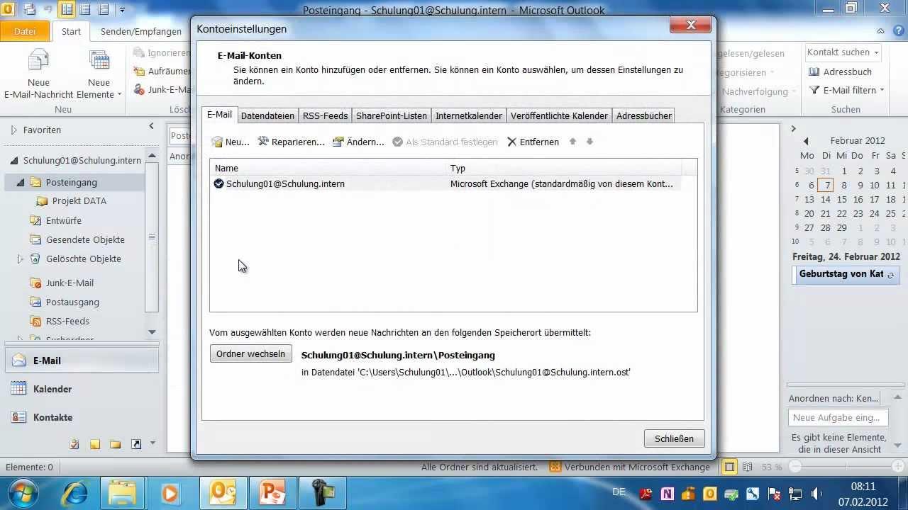 Outlook Reihenfolge Von Vor Und Nachnamen Tauschen Kontakte