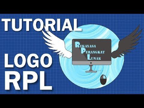 Tutorial Desain Logo Kompetensi Keahlian Rekayasa Perangkat Lunak