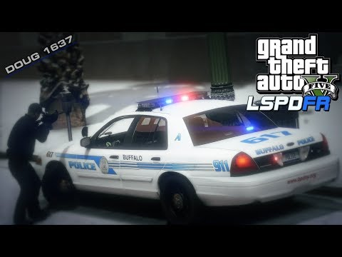 "GTA V LSPDFR Day-204 (City Patrol) (BPD) ""Buffalo Police #3"""