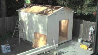 Time Lapse Video Of Building A Shed